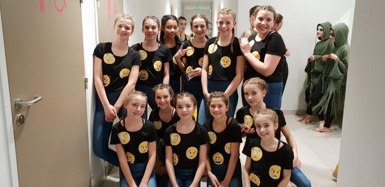 Danseuses démo Belleville Show Dance